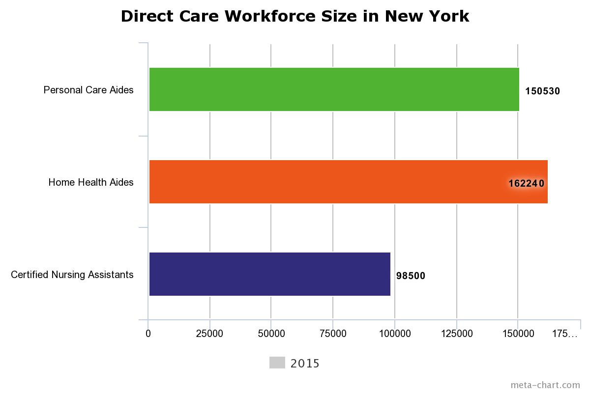 New York Directcare workforce
